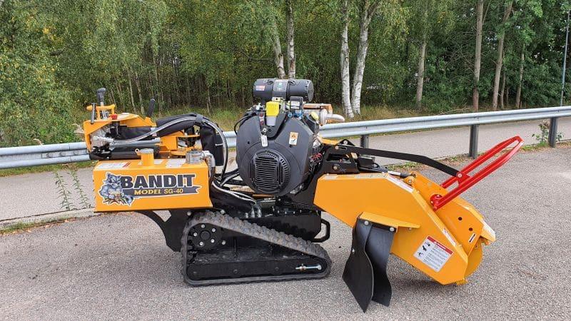 bandit sg-40 stubbfräs - nordicc
