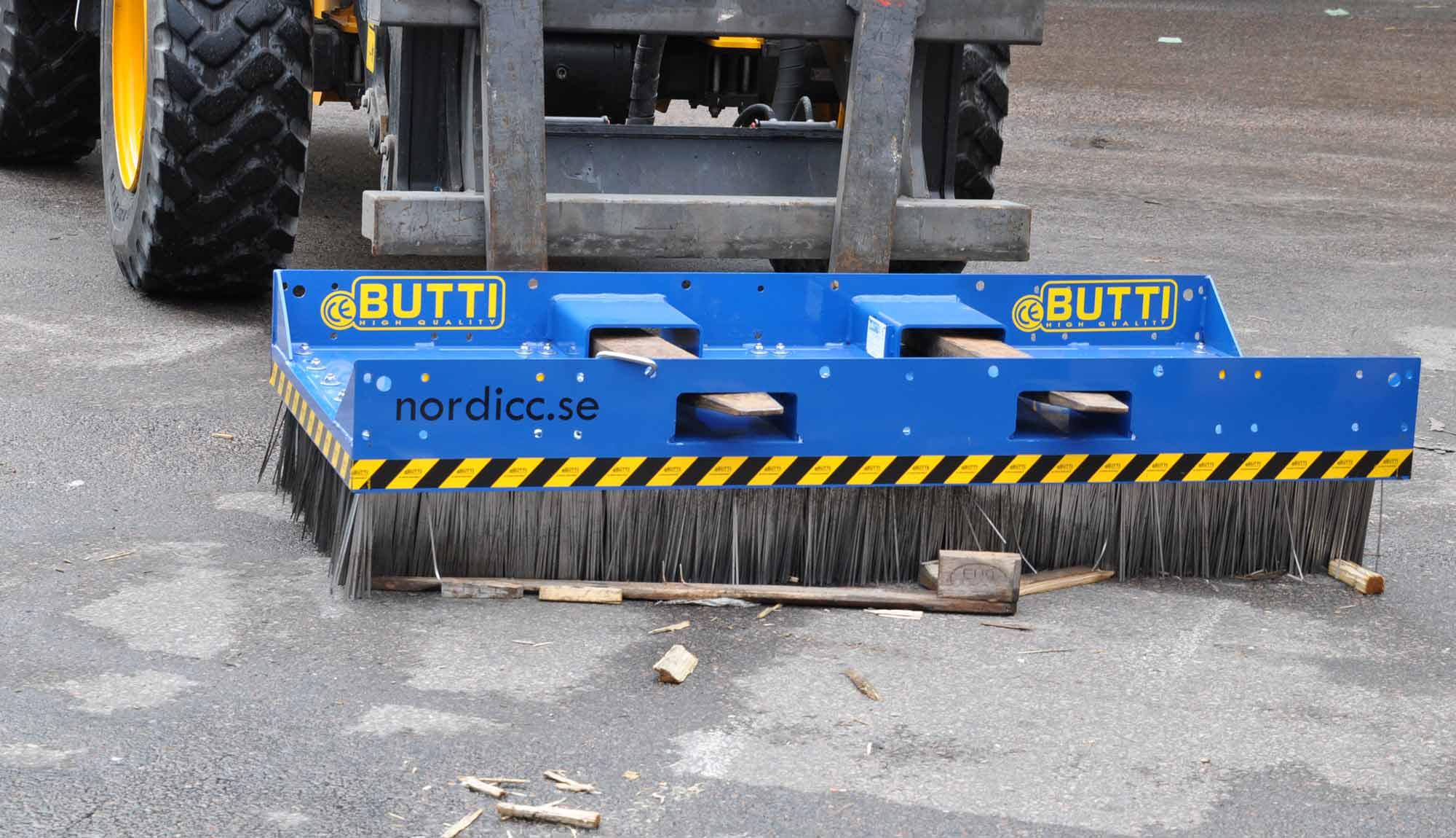 Butti stålborste från Nordicc